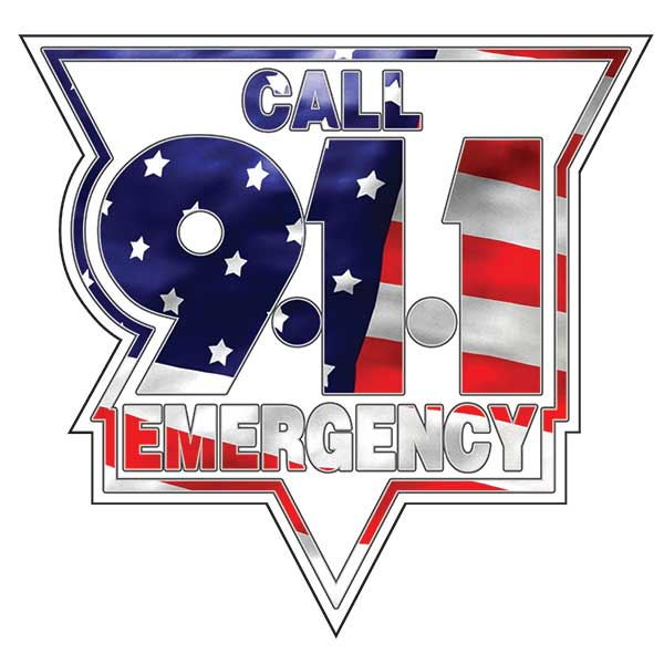 Call 911 Emergency C911E12