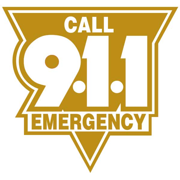 Call 911 Emergency C911ESR3
