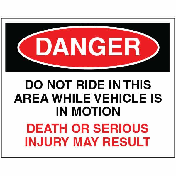 Industrial Safety Sign ISEADNA5